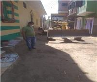 حملة نظافة مكبرة بمحافظة المنيا