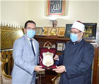 سفير كازاخستان يشيد بدور الجامعة المصرية للثقافة الإسلامية بكازاخستان