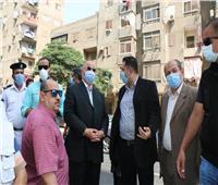 محافظ القاهرة يشهد إزالة أعمال إزالة الأبراج المخالفة بالأميرية