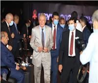صور| رئيس الوزراء يتقدم الحضور في حفل قرعة كأس العالم لكرة اليد