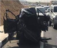 مصرع وإصابة 3 فى حادث مرورع بالطريق الدائري