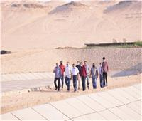 محافظ أسيوط يتفقد مشروع صرف صحي منطقة بني غالب الصناعية
