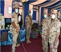 رئيس الأركان يشهد المرحلة الرئيسية لمشروع تكتيكي لإحدى وحدات الجيش الثاني