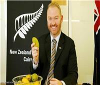 سفير نيوزلندا عن «المانجو العويسي»: أتمنى تصديرها لبلادنا