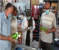 ضبط 50 مخالفة تموينية بالمنيا خلال حملات على المخابز والأسواق