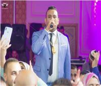 صور| الليثي يُشعل حفل زفاف «أحمد ولمياء»