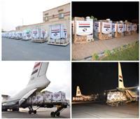 مصر تفتح جسر جوى لإرسال مساعدات عاجلة لمتضرري السيول بالسودان والجنوب