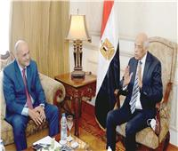 «عبد العال» لرئيس تحرير «الأخبار»: شهادة حق الرئيس لم يتدخل في عمل المجلس