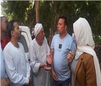 نائب محافظ القليوبية تتفقد قريتى ميت العطار وعزبة العمرى ببنها