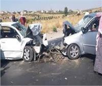 إصابة 17 عامل إثر حادث سير بمركز السادات