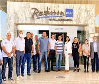 وصول وفد من الاتحاد الدولي لكرة اليد لتفقد ملاعب وفنادق الإسكندرية