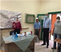 صور| جولة لرئيس حي الدقي على المقار الانتخابية