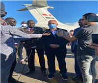 «وزير الري» يعلن من جنوب السودان وصول طائرة المساعدات لمواجهة الفيضانات