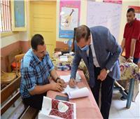 رئيس جامعة سوهاج يدلي بصوته في جولة الإعادة بانتخابات الشيوخ