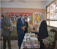 «الهجان» يتفقد لجان انتخابات «إعادة الشيوخ» بمدن المحافظة