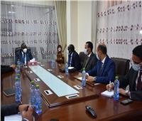 ملفات تعاون ومشروعات مشتركة.. تفاصيل لقاء رئيس جنوب السودان ووزير الري المصري