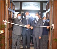 جامعة الإسكندرية تفتتح قاعة مجلس الجامعة فى ثوبها الجديد
