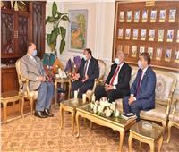محافظ أسيوط يستقبل نائب رئيس جامعة الأزهر