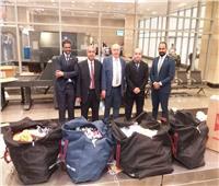 جمارك مطار القاهرة تحبط محاولة تهريب مستحضرات تجميل