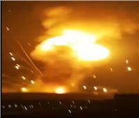 عاجل| الفيديو الأول لانفجار محافظة الزرقاء الأردنية