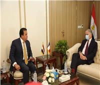 ننشر تفاصيل استقبال وزير التعليم العالي للرئيس الجديد للجامعة الفرنسية بمصر