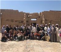 السائحون: سعداء بالتقاط الصور مع المصريين