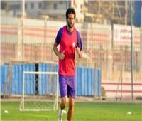 محمود علاء ينتظم في التدريبات الجماعية للزمالك