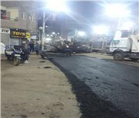 محافظ أسيوط يعلن استكمال أعمال رصف وتطوير شوارع حي شرق