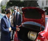 تحويل 118 ألف سيارة للعمل بالغاز الطبيعي خلال 6 سنوات في عهد السيسي