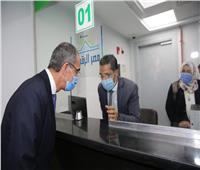 وزير الاتصالات يفتتح 3 مراكز خدمات بريدية مطورة