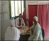 استمرار أعمال القوافل العلاجية للمبادرة الرئاسية «حياة كريمة» الوادي الجديد