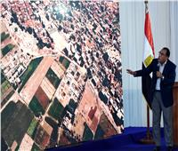 صور وفيديو| رئيس الوزراء: هدفنا الحفاظ على باقي الرقعة الزراعية التي تسهم في غذاء 100 مليون مواطن