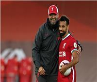 بعد تسجيله «هاتريك» في ليدز.. مدرب ليفربول يتغنى بمحمد صلاح