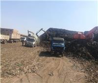 محافظ المنوفية: رفع 150 ألف طن قمامة من مقلب منوف العمومي