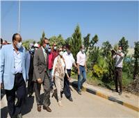 صور| وزيرة البيئة ومحافظ كفر الشيخ يتفقدان محطة معالجة صرف صحى سخا