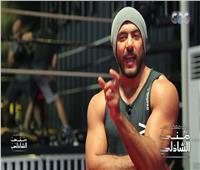فيديو| أحمد العوضي يلعب بوكس