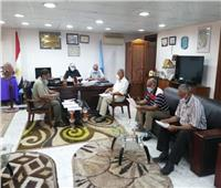 رئيس مدينة سفاجا تناقش مشاكل السرفيس في الاجتماع الشهري لإدارة المواقف
