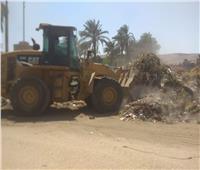 رفع 80 طن مخلفات وقمامة بمراكز ديروط والغنايم وأسيوط