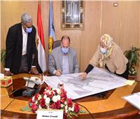 محافظ أسيوط يعتمد خرائط المخطط الاستراتيجي لمدينة صدفا