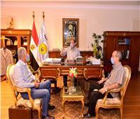 محافظ أسيوط يستقبل مستشار مجلس الوزراء للمشروعات لمتابعة الموقف التنفيذي للمشروعات المتعثرة