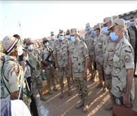 رئيس أركان حرب القوات المسلحة يشهد المرحلة الرئيسية لمشروع «فتح - 41»