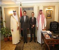 صور.. وزير التعليم العالي يبحث مع السفير السعودى تعزيز التعاون الثنائي