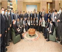 وزير الري يلتقي أعضاء تنسيقية شباب الأحزاب والسياسيين لبحث مستجدات ملف سد النهضة
