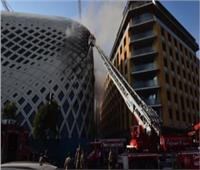 مسؤول بالدفاع المدني اللبناني: إخماد حريق في الحي التجاري بوسط بيروت