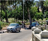 صور| الكنز المفقود..قطار التطوير يصل «حدائق قصر المنتزة الملكية»