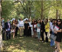 وزير السياحة يلتقي ممثلي 30 شركة منظمة للرحلات بحضور وسائل الإعلام بأرمينيا