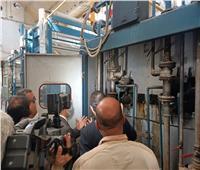 محافظ الغربية يشيد بأعمال تطوير أقسام شركة مصر للغزل والنسيج