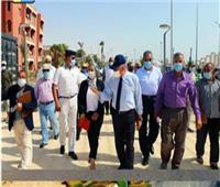 محافظ جنوب سيناء يتابع العمل بمشروعات بمدينة الطور قبيل افتتاحها