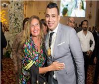 صور| يسرا تتواجد في زفاف «أحمد وإسراء».. والليثي نجم الحفل