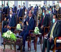 فيديو| الرئيس السيسى يوجه رسالة للمشككين في إنجازات الدولة